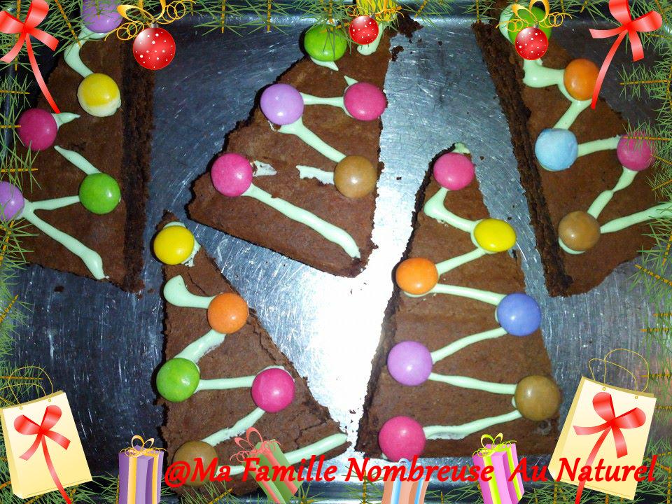 sapins de noël au chocolat / recette