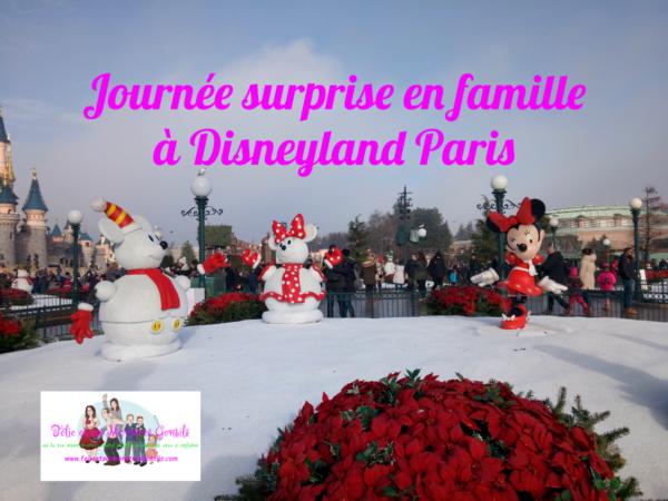 famille à Disneyland Paris