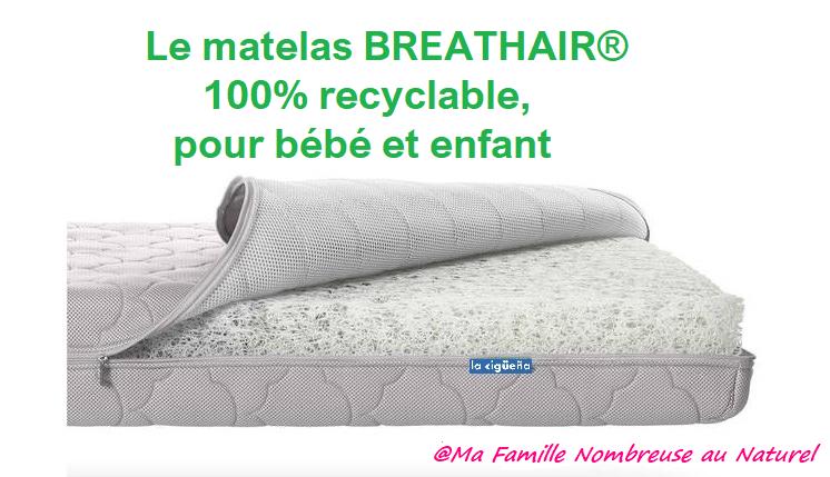 matelas breathair / dodonaturel.fr