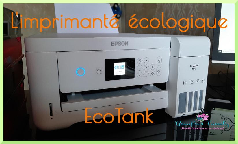 imprimante écologique EcoTank de Epson