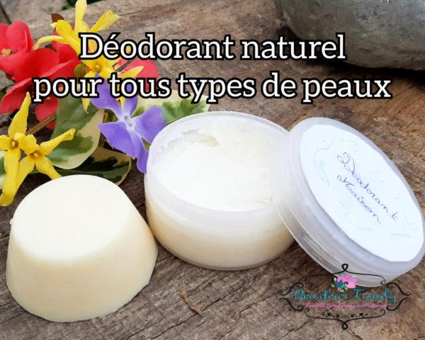 déodorant naturel maison , version déodorant solide et déo pommade