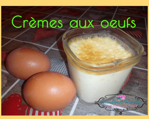 recette des crèmes aux oeufs zéro déchet
