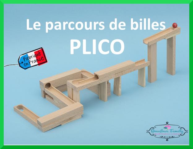 parcours de billes français PLICO