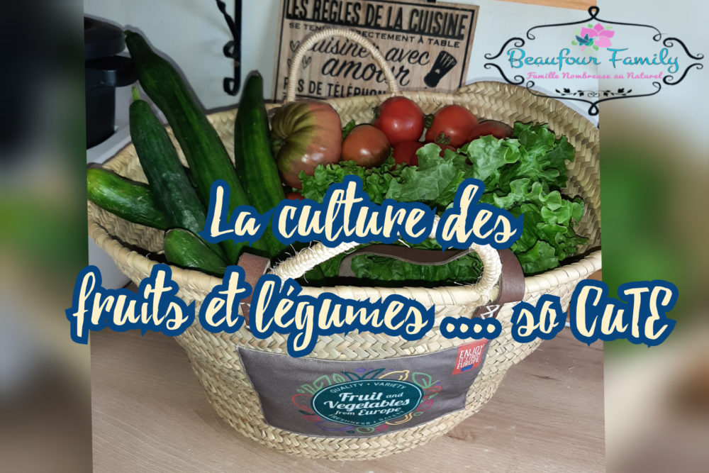 culture de fruits et legumes /programme cute
