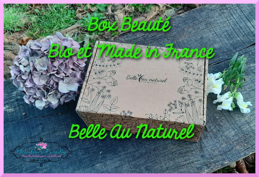 Box beauté 100% bio et made in france belle au naturel