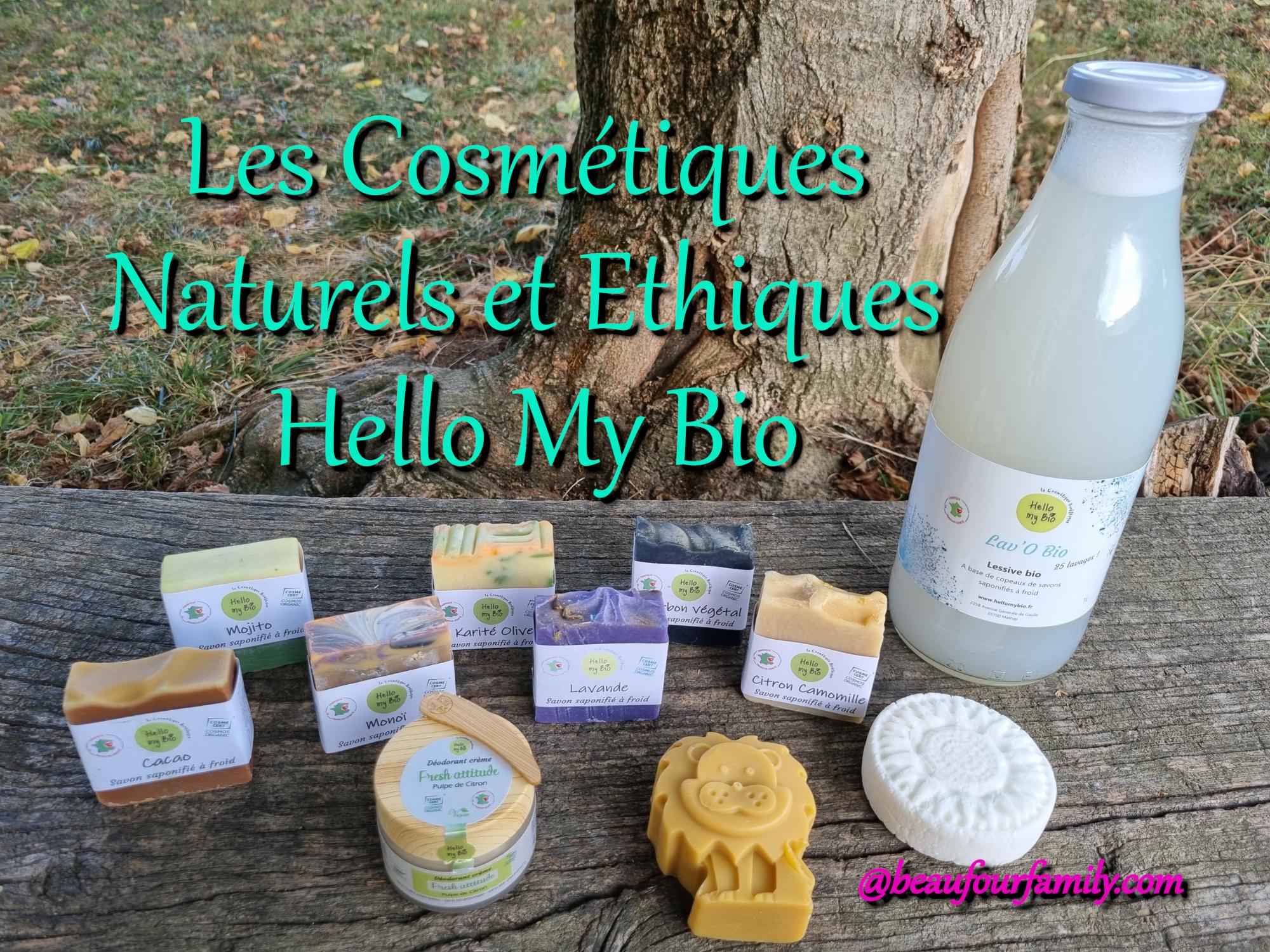 cosmétiques naturels et éthiques